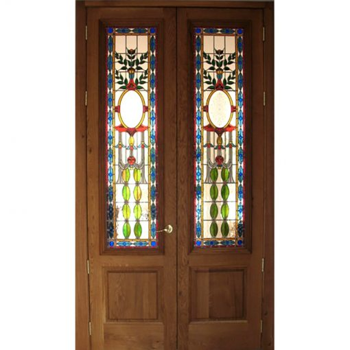 Stained glass doors for home