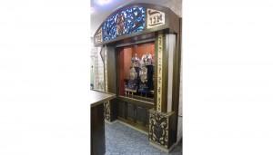 synagogue ark at Sons of Israel