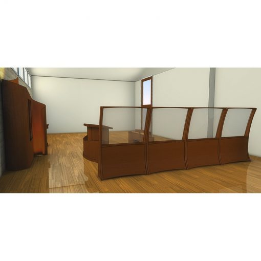 Houston, Texas Chabad contemporary synagogue design overview of mechitza
