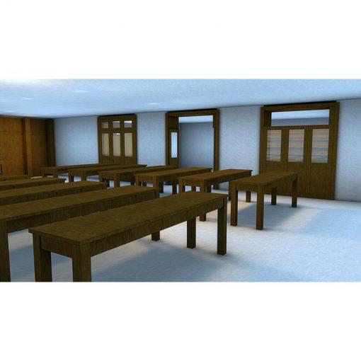 Tehillat Yisrael Toronto Mechitza and tables