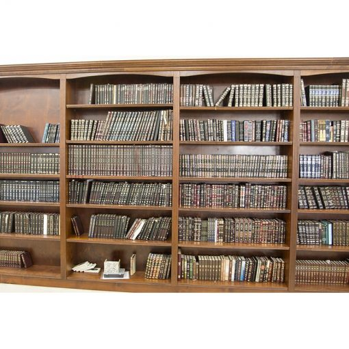 Details of book cases from synagogue in Israel