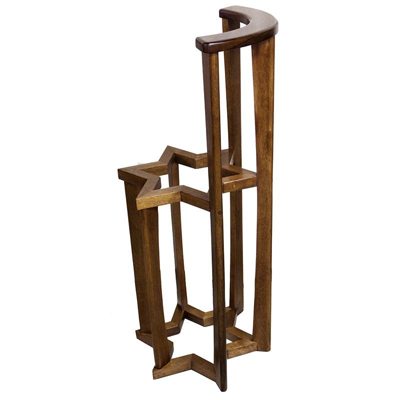 Torah Stand Magen David Design from Wood
