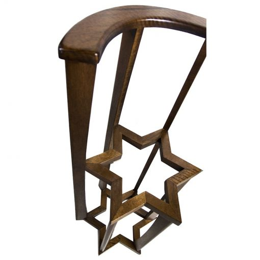 Torah stand torah holder with magen david design