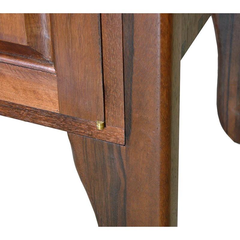 Tree of Life carved wood torah table legs