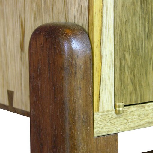 Seven Species Torah Ark wood joinery