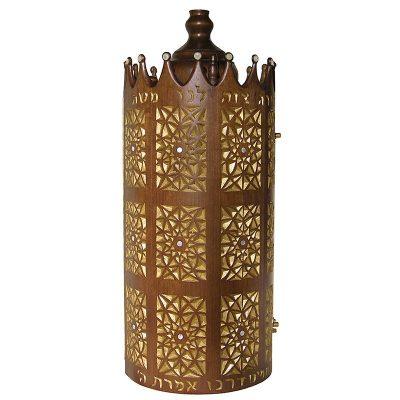 Torah-case-sephardic-carved-gold