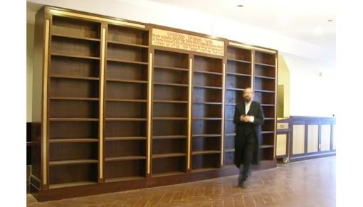 Yeshiva MIshkan Hatorah Synagogue Shelving