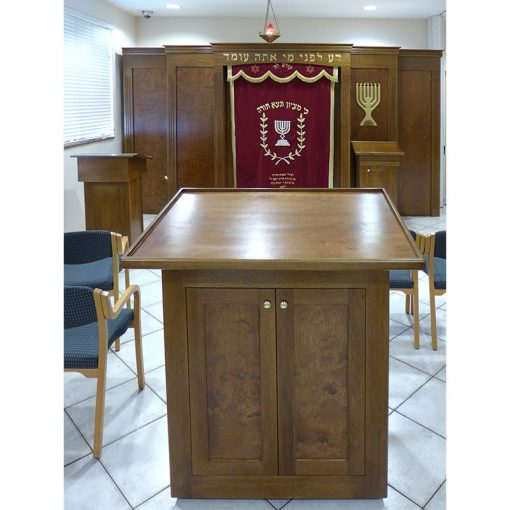 torah reading table and bimah synagogue furniture for Young Israel of Greater Miami