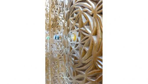Torah Ark Carved Curve Doors