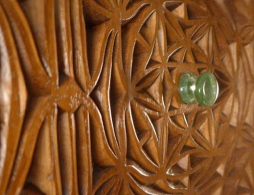 Curved Torah Ark Doors Handles