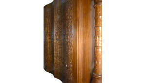 Curved door torah ark