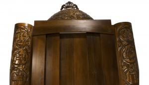 sliding doors solid wood ark with carving
