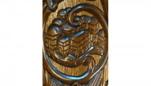 twelve tribes carving shimon