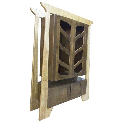 Mishkan ha torah aron kodesh wood hanging ark