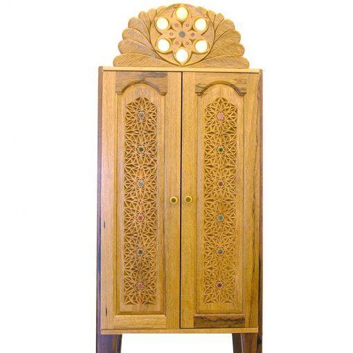 aron kodesh contemporary style doors