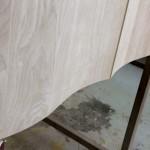 progress of curved doors