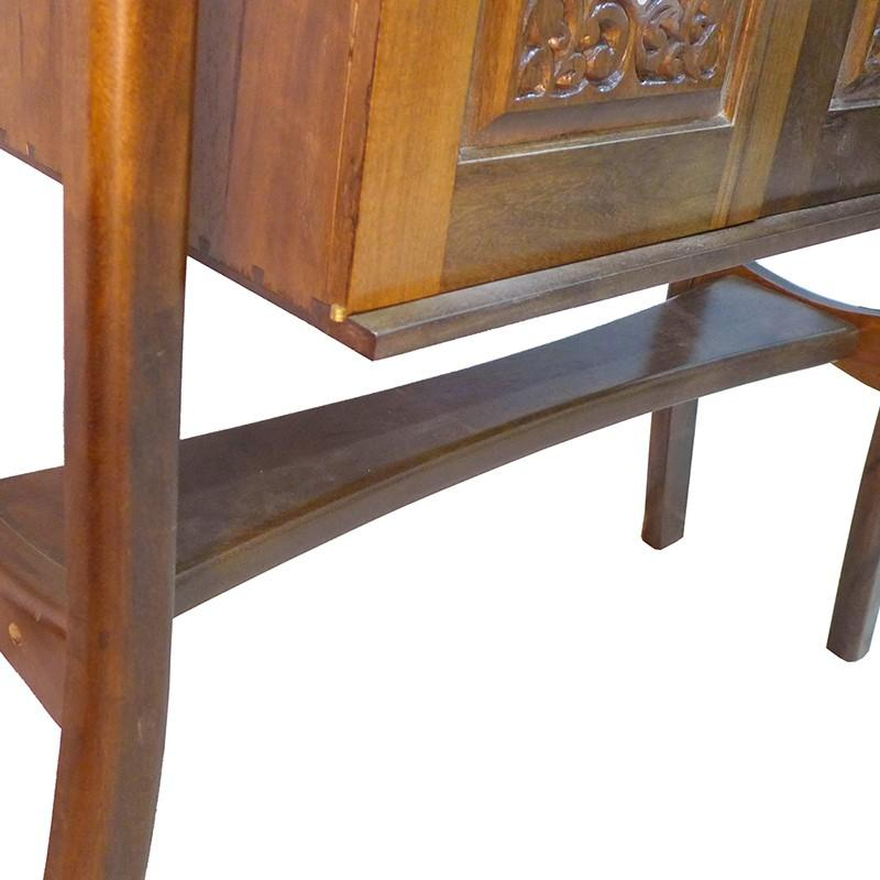 wood carved mishkan aron kodesh joinery