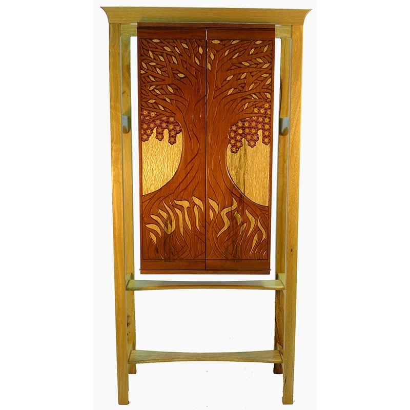 Jewish Oahu Solid Wood Torah Ark