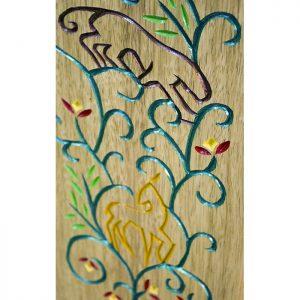 portable torah ark pirke avot carved wood doors
