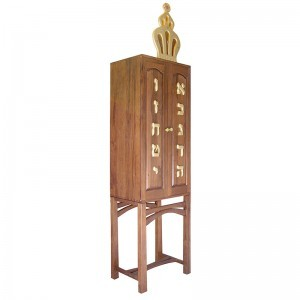 ten commandments aron kodesh side view