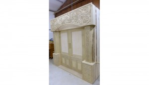 aron kodesh toronto in progress