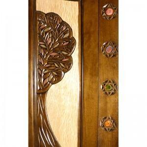 tree of life carving aron kodesh
