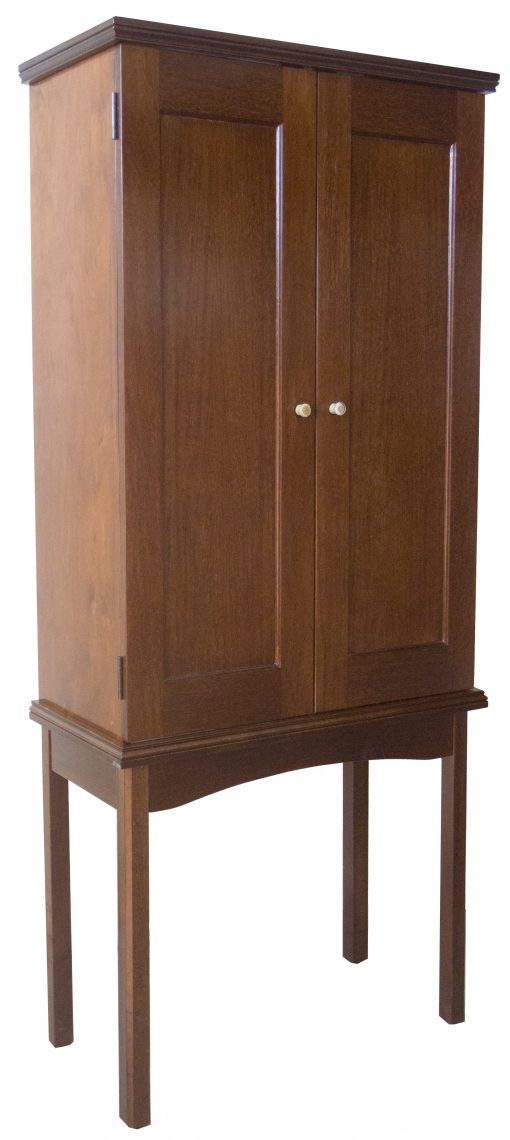 Portable wood Aron Kodesh with legs