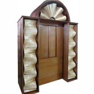 unique contemporary torah ark design