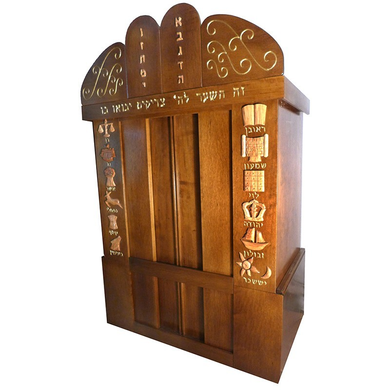 westchester torah ark from side view