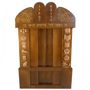 aron kodesh custom made for westchester young israel in new york