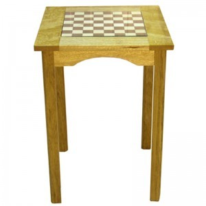 african walnut chess board