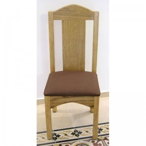 custom built chair from solid wood with joinery