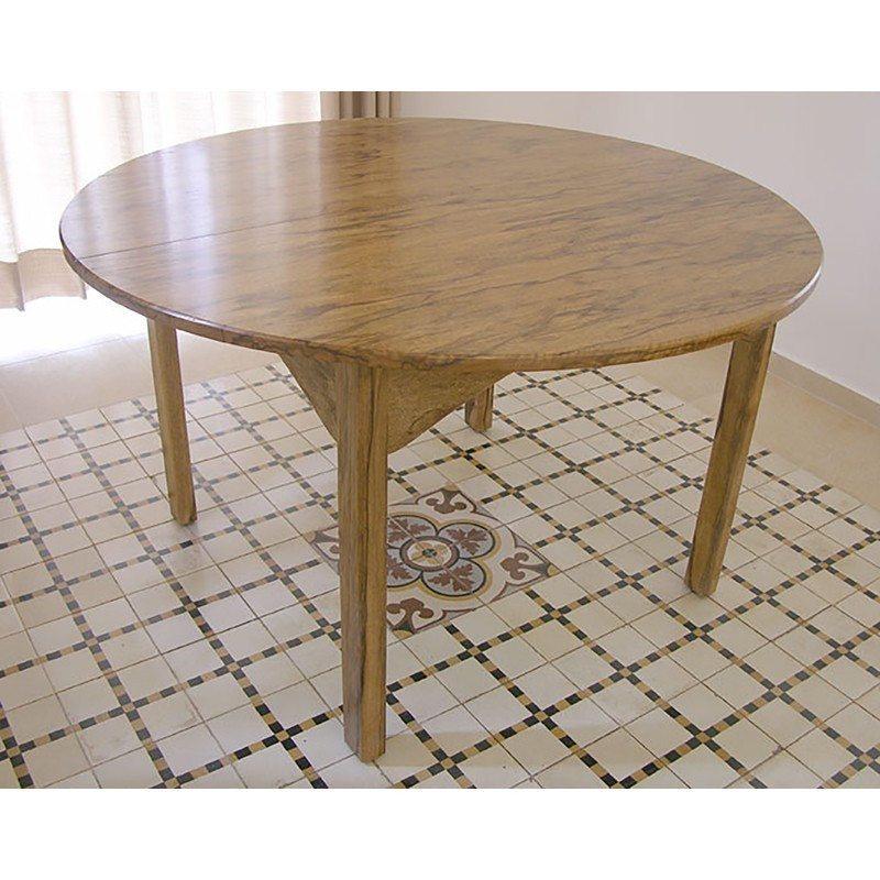 Solid Wood Extending Table From African Walnut