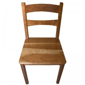 cherry wood chairs from dining set