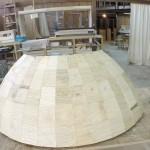 Dome in progress