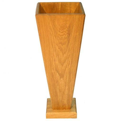 Solid wood kippah box for synagogue entrance