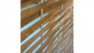 weave mechitza stainless steel and wood
