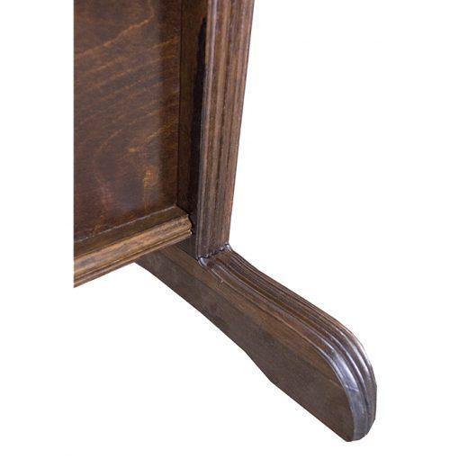 wood mechitza legs