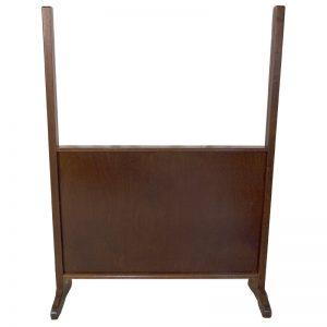 portable mechitza one way glass wood frame legs
