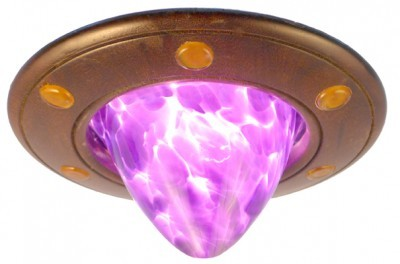 purple glass eternal light