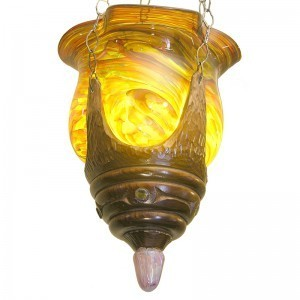 cedar wood ner tamid eternal light for synagogue