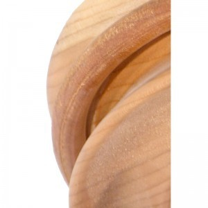 cherry wood detail of loose ring