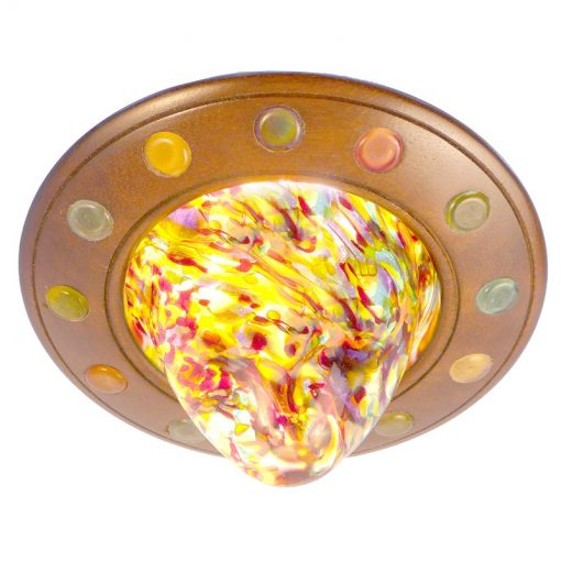 twelve tribes disc ner tamid for hanging or ceiling mount