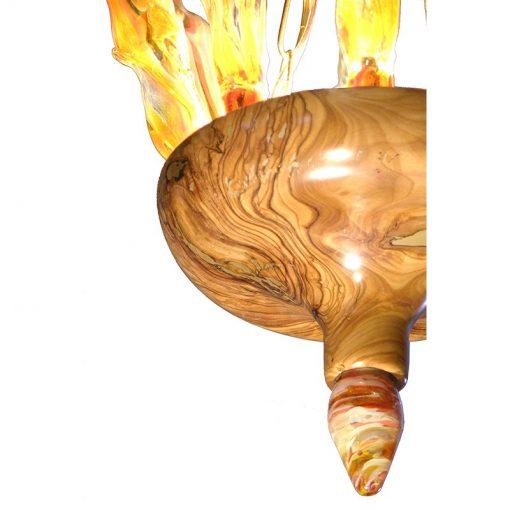 נר תמיד, מנורה, תאורה