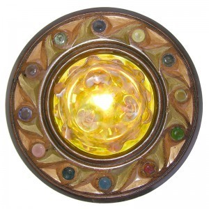 twelve tribes disc low ceiling ner tamid bottom view