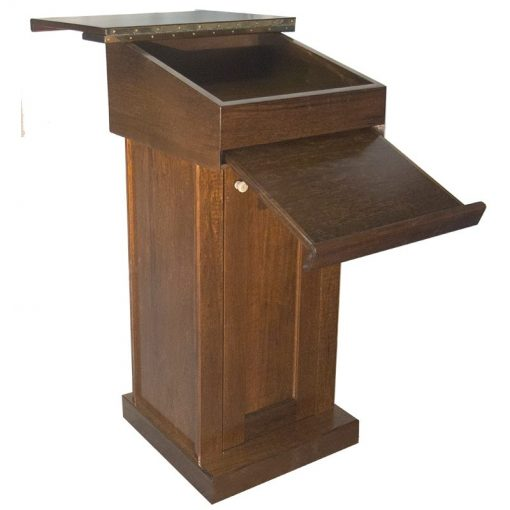 podium rabbi cantor pulpit prayer stand pull down table