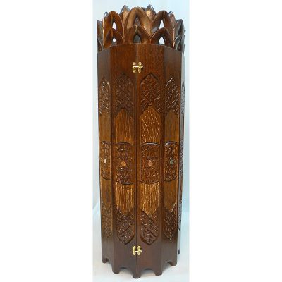 sephrdi torah case with carving detail work