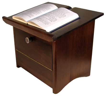 Portable Shtender Dark with book