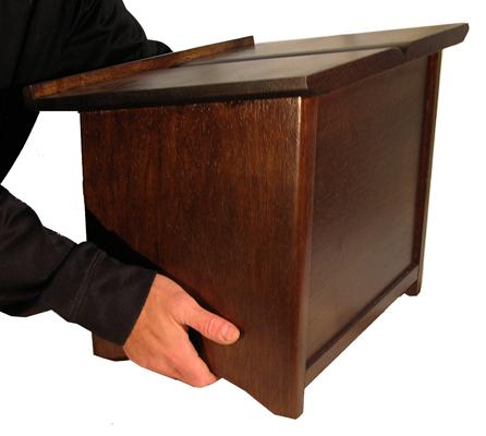 Portable Shtender Dark carry