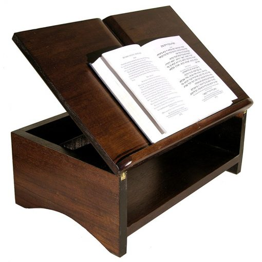 table top shtender can be easily adjusted for height
